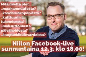 Niilo fb-live 12.3.